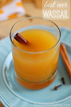 What makes this Hot Wassail recipe the best ever is the mix of citrus and cinnamon flavors! Keep this drink warm in a slow cooker or on the stove for your friends and family to enjoy all night long at your next holiday party.
