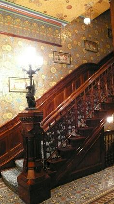 Victorian interiors. This site is full of awesome pics of Victorian interiors and exteriors. ..rh