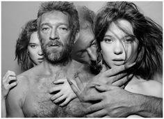 Léa Seydoux & Vincent Cassel in Beauty and the Beast (La belle et la bête 2014)