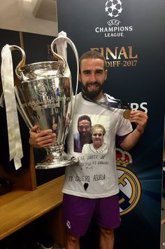 Dani Carvajal Real Madrid Champions League 12 duodecima Cardiff 2017