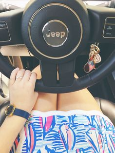 JEEP JEEP -- sounds really funny if you say it days and loud Preppy Outfits, Preppy Style, Cute Outfits, My Style, Preppy Clothes, Preppy Southern, Southern Belle, Southern Prep, Jeep Wrangler