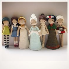 { Amour Fou | Crochet }: The Dolls. Inspiration only. No pattern.