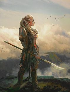 dungeons and dragons npc ideas \ npc ideas ; d&d npc ideas ; dungeons and dragons npc ideas ; Fantasy Warrior, Fantasy Rpg, Medieval Fantasy, Fantasy Artwork, Viking Warrior Woman, Digital Art Fantasy, Warrior Concept Art, Fantasy Drawings, Warrior Women