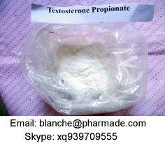 Testosterone propionate  Email ID: blanche@pharmade.com   Skype ID: xq939709555   Testosterone propionate  Alias: Test Prop;Testoviron;sterandryl;Agovirin;Testosteron Testosterone propionate  CAS NO.: 57-85-2 Einecs No: 200-351-1 Molecular Formula: C22H32O3 Molecular weight: 344.49