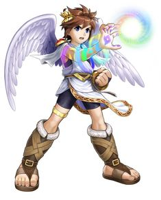 Pit & Violet Palm - Kid Icarus: Uprising