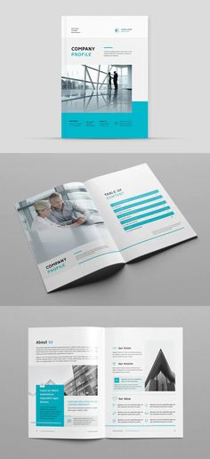 Clean Company Profile Template INDD - 16 pages Solar Companies, Cleaning Companies, Company Profile Design Templates, Solar Solutions, Print Templates, Curves, Business, Card Templates Printable, Cleaning Services Company