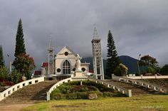 100 years old cathedral in Ruteng