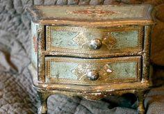 an old Florentine box
