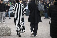 Pitti Uomo 91 FW17 Part 2, Reportage by Julien Boudet #fw17 #pittiuomo17 #menswear #avantgarde