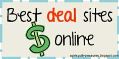 My biggest craft right now is Christmas shopping on a budget before the holiday craziness starats...These deal sites have definitely made a difference (and helped me think of gifts on the cheap). Best Sites for Finding Deals Online