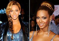 Dús, vastagszálú haj esetén Beyoncé adhat ötleteket. Erre a linkre kattintva több frizurát is találsz tőle.