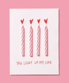 DYI valentines for adults