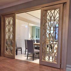 home_decor - The Ultimate Handbook To Innovative Room Dividers 158 Home Design Decor, Home Room Design, Home Interior Design, Living Room Designs, Interior Decorating, Home Decor, Decor Room, Room Door Design, Foyer Design