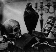 Quoth the Raven Satan, Crane, Quoth The Raven, Crows Ravens, Photoshop, Mystique, Motorcycle Art, Illustrations, Gothic Art