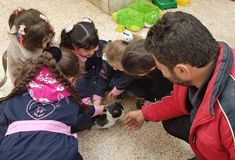 A visit to the House of Cats Syrian Children, Childhood, Cats, House, Infancy, Gatos, Kitty Cats, Haus, Cat