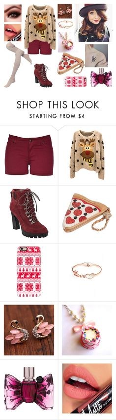 """Kara - attrice teen"" by eliana-zennaro on Polyvore featuring Nine West, Betsey Johnson, Casetify, Viktor & Rolf and Fiebiger"
