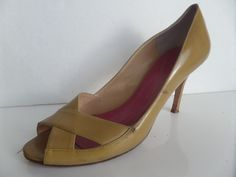 965f96b65306 Kate Spade Patent Leather Shoes Peep Toe Pumps Women Size 9 B  katespade   PumpsClassics