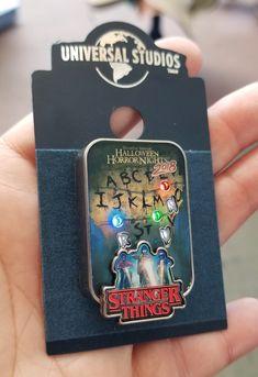 60773cab Halloween Horror Nights Universal Studios Parks HHN 2018 Blinking Lights  Pin Stranger Things. Love it