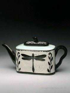 Dragonfly Teapot, Karen Newgard