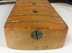 1959 Fender Precision Bass Neck Stamp