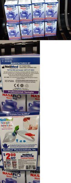 Neti Pots and Cleansers: Lot Of 8 Neilmed Nasaflo Neti Pot New.. BUY IT NOW ONLY: $50.0