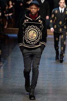 Dolce & Gabbana - Fall 2015 Menswear