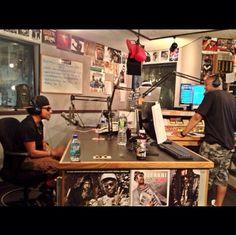 Live interview at WZMX Hot 93.7