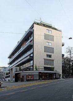Le Corbusier - Immeuble Clarté - Geneva