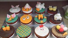 Cupcakes de páscoa.
