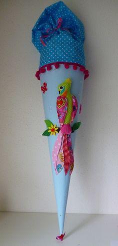 Schultüten - Schultüte, Zuckertüte - ein Designerstück von Anastasiyas-Stoffmaerchen bei DaWanda