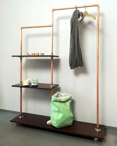 DIY Regal aus Kupfer zum selber bauen