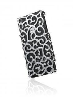 Smartphone-case: Mit SWAROVSKI ELEMENTS handveredelt, designed for iPhone 5 , Schutzfolie fürs Display incl. , schmutzabweisend für 29,99 €  von http://www.diamond-cover.de/