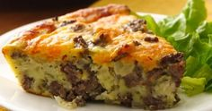 Cheeseburger casserole WW
