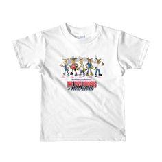 The Five Burros of New York ©Street Logo-Short sleeve kids t-shirt