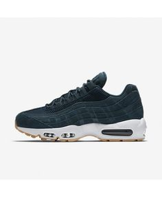 d650f53ab30a Find great deals for Nike Air Max 95 Premium Armoury Navy Blue Fox Gum  Yellow Men s Shoes.