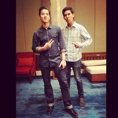 duo ganteng :* chantavit and mario u.u