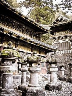 Tosho-gu, Nikko, Japan.  Nikko is one of the most beautiful places to visit.