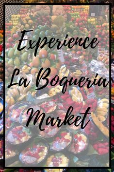 What is a trip to Barcelona, without a visit to this emblematic market? Experience it at its best with some of our top tips to visit La Boqueria Market! Barcelona Travel Guide, Hotels, Spanish Culture, Roadtrip, Seville, Spain Travel, Foodie Travel, Granada, Night Life