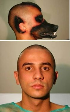 Brazilian Man Gets Plastic Surgery to Look Like a Dog. I am sure this isn't true, but still really creepy looking!