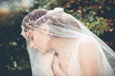 ETHEREAL BRIDAL JEWELLERY | Veil, headpiece