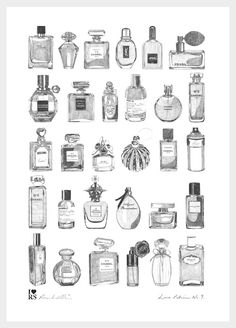 Image of 'Love Potion No.9' Print by Ros Shiers