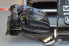 Technique - L'aileron avant McLaren à Singapour
