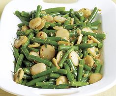 A finishing touch of soy sauce and sesame oil gives this crisp-crunchy side dish a savory-nutty nuance.