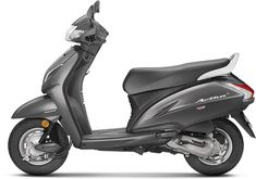 Images of Honda Activa Photos of Activa - BikeWale metallic gray color activa - Gray Things Honda Scooter Models, Honda Scooters, Honda Bikes, Color Shades, Gray Color, Honda Dealership, New Honda, Metallic Colors, Chennai