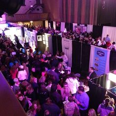 Birds eye view of today's Bridal Show in Scranton Pa
