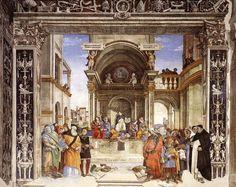 San Tommaso d'Aquino in cattedra (1488-93; Roma, Santa Maria sopra Minerva, Cappella Carafa)
