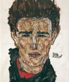 """dappledwithshadow: """"Alfons Walde (Austrian, 1891 - Portrait of Egon Schiele 1914 """" Beauty In Art, Male Beauty, Chaim Soutine, Art Photography Portrait, Modernisme, Art Moderne, Gustav Klimt, People Art, Painting & Drawing"""