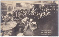 RP: The Navy Club, 509 Fifth Avenue , New York City , PU-1918