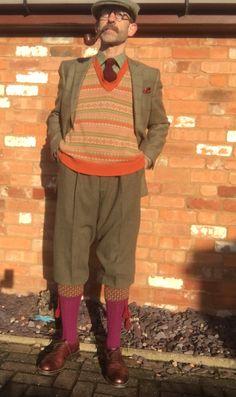 Older Mens Fashion, Men's Fashion, Old Man Hat, Vintage Clothing, Vintage Outfits, Tweed Ride, Plus Fours, Grey Beards, Men's Hats