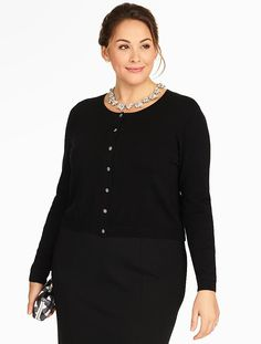 Charming Dress Cardigan - Talbots